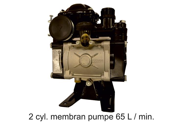 2 cyl membran pumpe 65 L